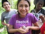 Teenage citizen scientists who participated in our forest owl study