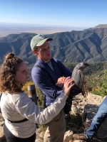 Hawkwatching with Manzanos Alum